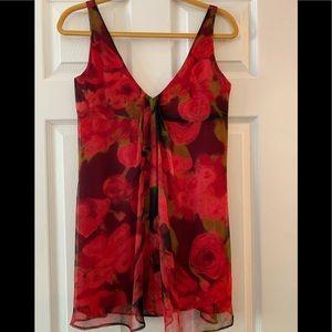 Gorgeous Cynthia Rowley silk chiffon mini dress!